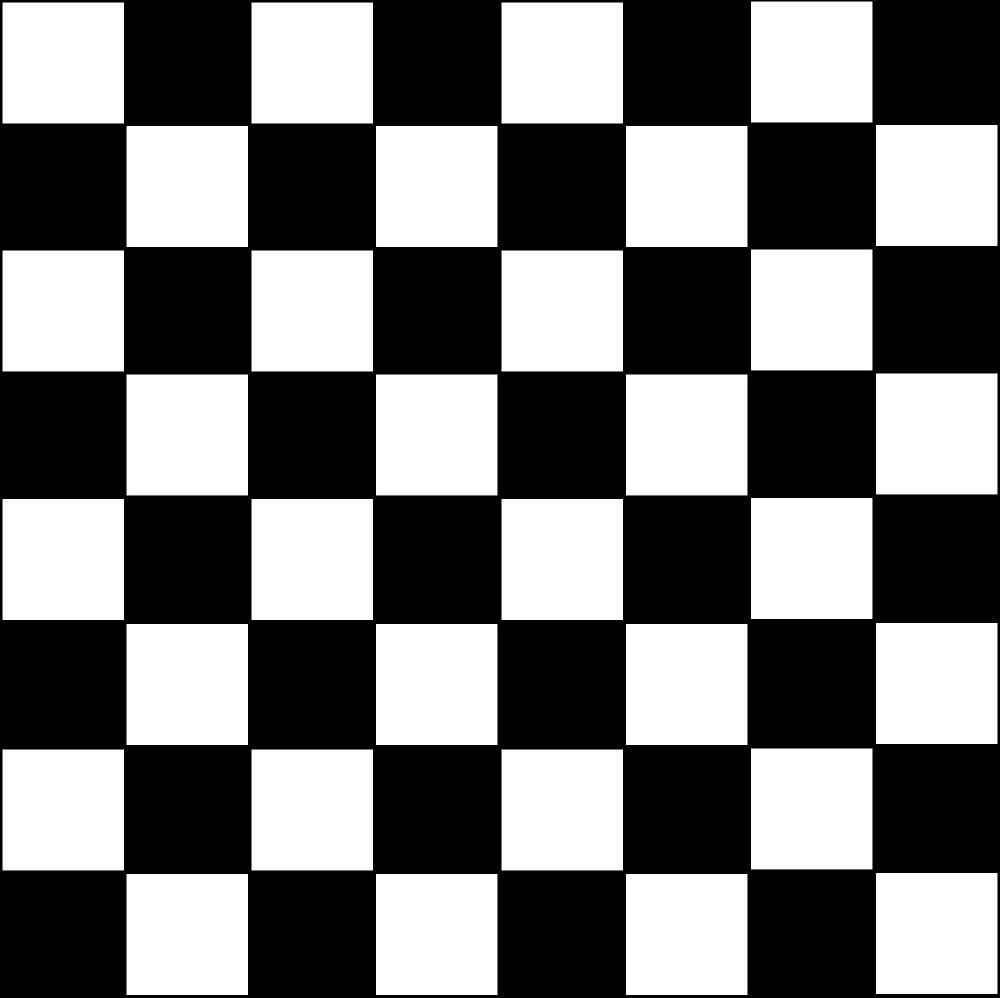 «Tablero Blanco y Negro» de AjedrezdeElite