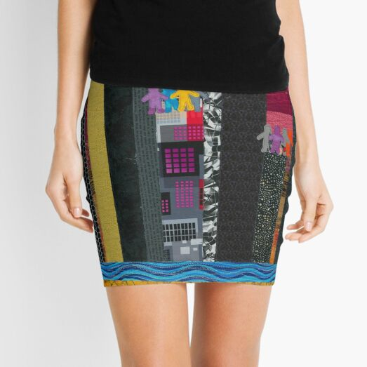 Scorched Earth Mini Skirt