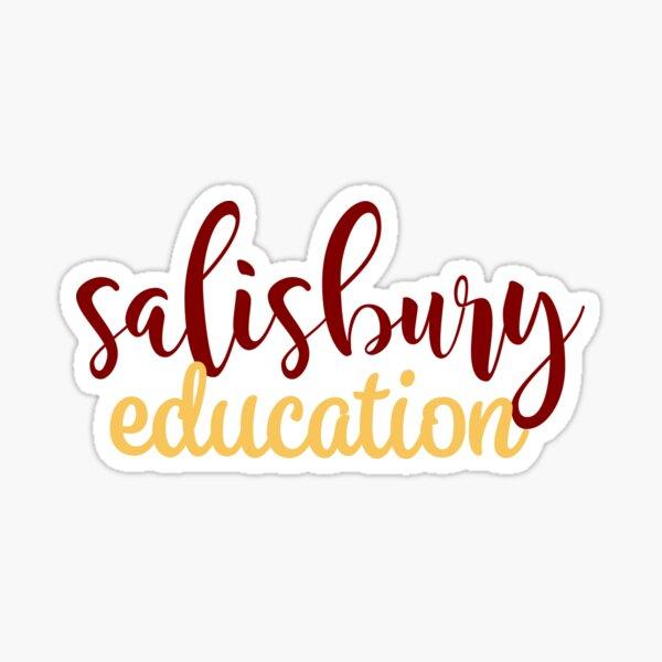 Salisbury University Education Sticker
