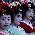 asakusa geisha by abe07