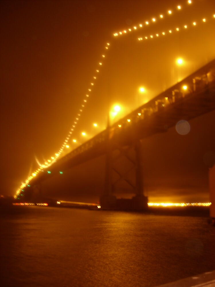 San Francisco Bay Bridge by kaholst