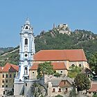 Durnstein Monastery and Castle by Graeme  Hyde