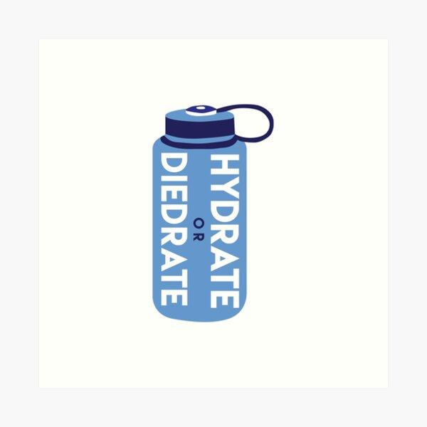 Hydrate or Diedrate Art Print