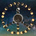 Solar Eclipse – Peace on Earth 2 by LENA OWENS @OLena Art