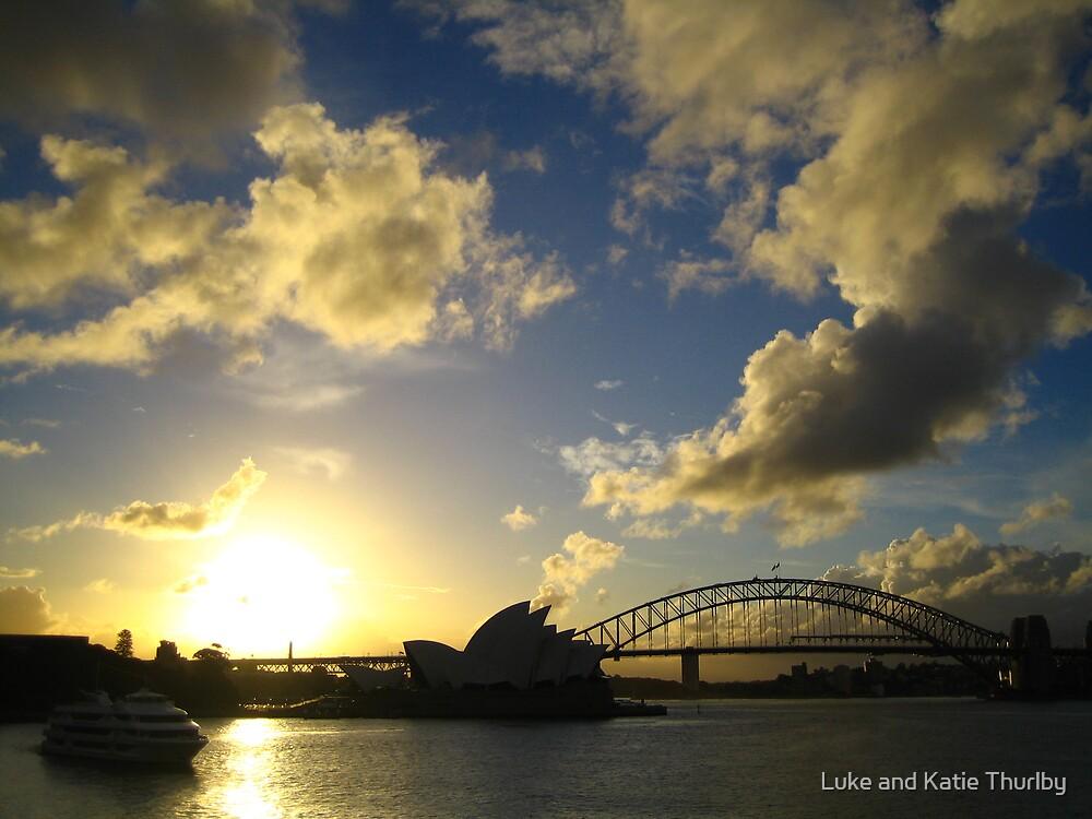 Sydney Harbour Bridge by Luke and Katie Thurlby