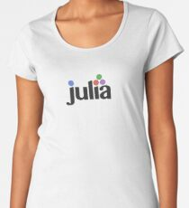 Julia Programming Language Women's Premium T-Shirt