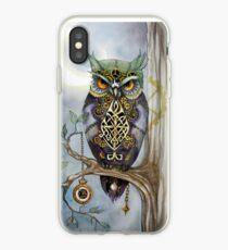 Clockwork Owl 1 iPhone Case