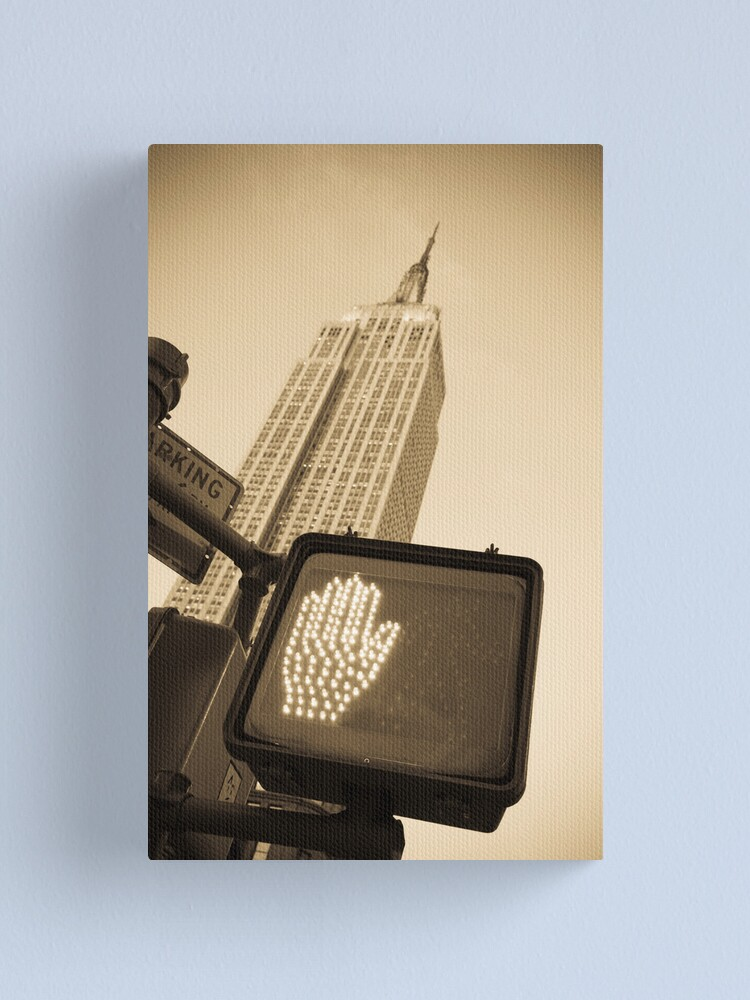 Alternate view of Empire State Building Canvas Print