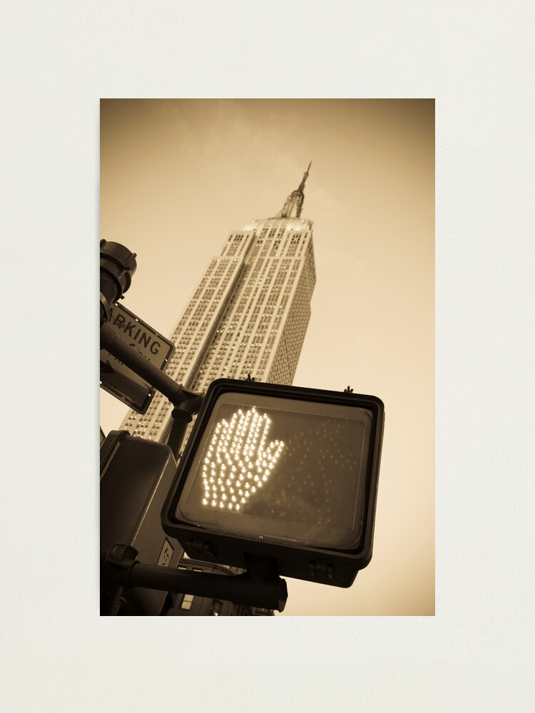 Alternate view of Empire State Building Photographic Print