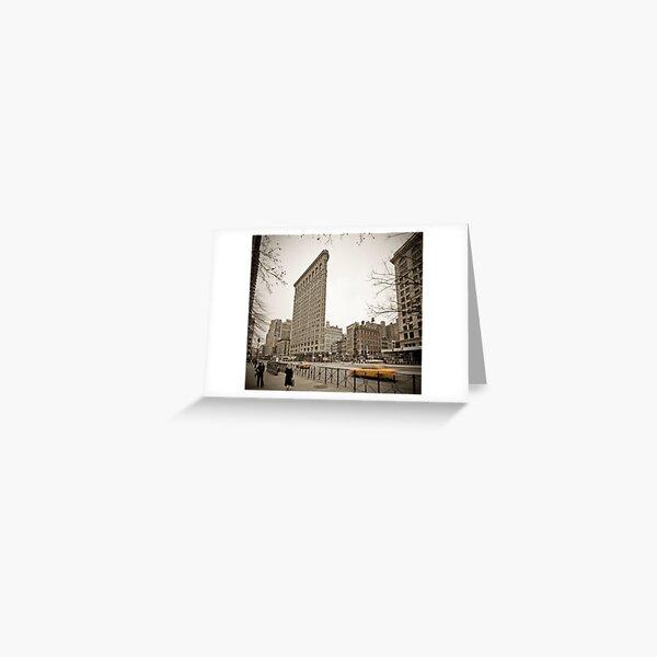 Flat Iron Building Greeting Card