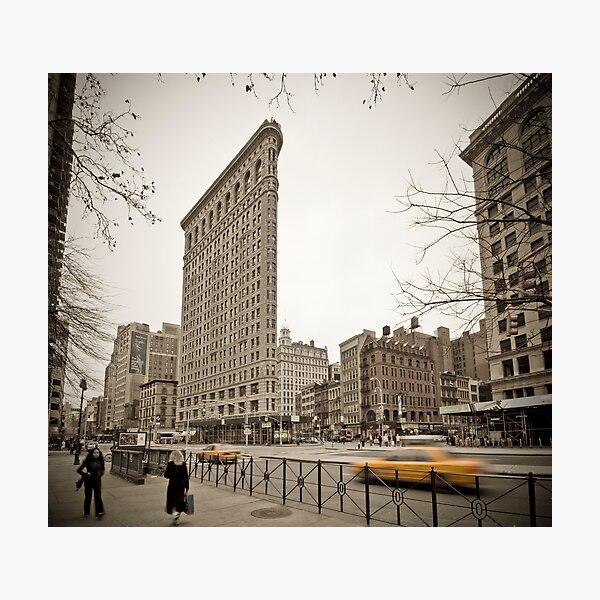Flat Iron Building Photographic Print