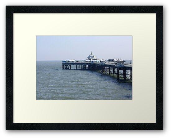 Llandudno Pier by Trevor Kersley