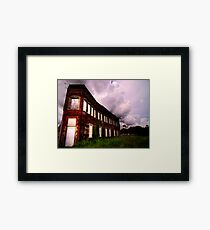 Union Hotel and Cafe  Framed Print