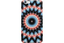 Black, blue and red Mandala Star auf Redbubble von pASob-dESIGN