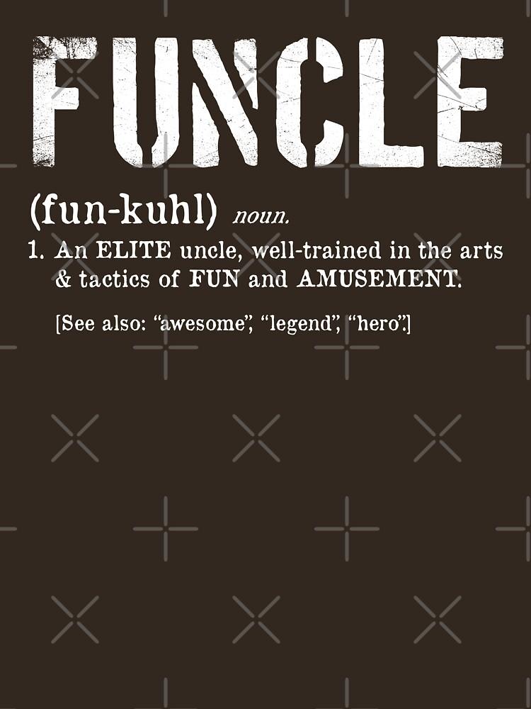 Funcle Fun Uncle Definition para veteranos militares de SuckerHug