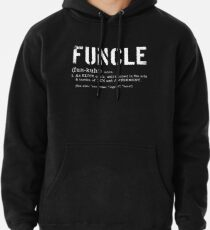 Sudadera con capucha Funcle Fun Uncle Definition para veteranos militares