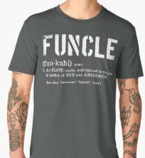 Funcle Fun Uncle Definition For Military Veterans Men's Premium T-Shirt