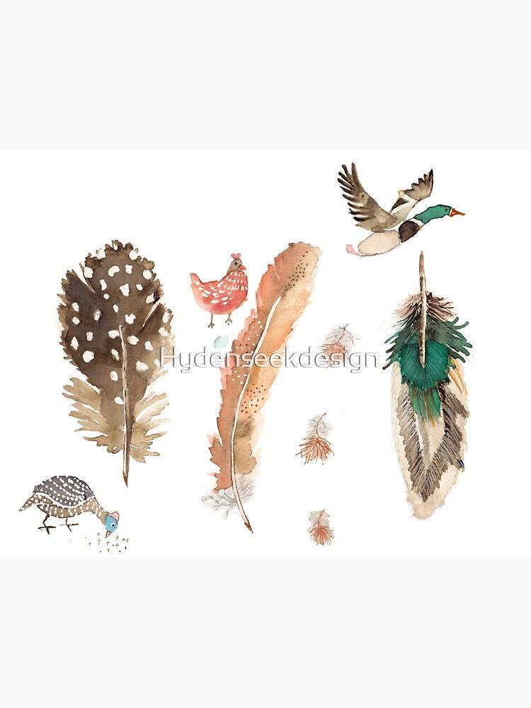 Feathered Friends by Hydenseekdesign