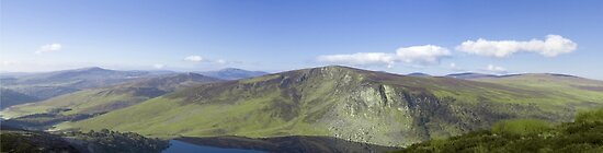 Wicklow Mountains, Ireland - Panoramic  by IAmPaul
