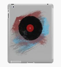 Vinyl Record - Modern Vinyl Records Grunge Design - Tshirt and more iPad Case/Skin