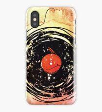 Enchanting Vinyl Records Grunge Art  iPhone Case