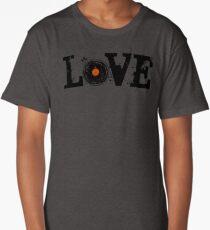 Love Vinyl Records Long T-Shirt