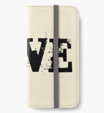 Love Vinyl Records iPhone Wallet/Case/Skin
