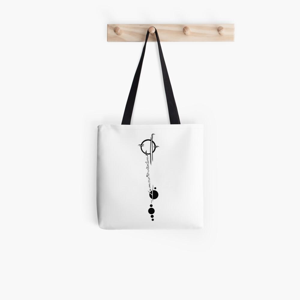 Lexa S Back Tattoo Tote Bag
