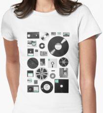 Data Women's Fitted T-Shirt