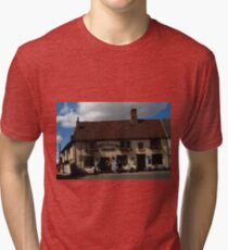 The Kings Head Inn, Woodbridge Tri-blend T-Shirt