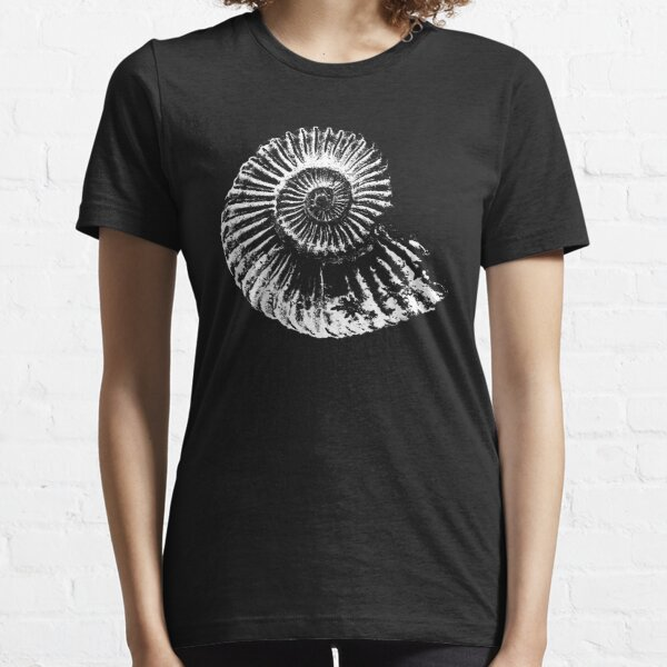 Ammonite fossil tshirt, ideal gift for fossil hunters Essential T-Shirt
