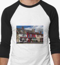 Colourful Market Hill, Woodbridge T-Shirt