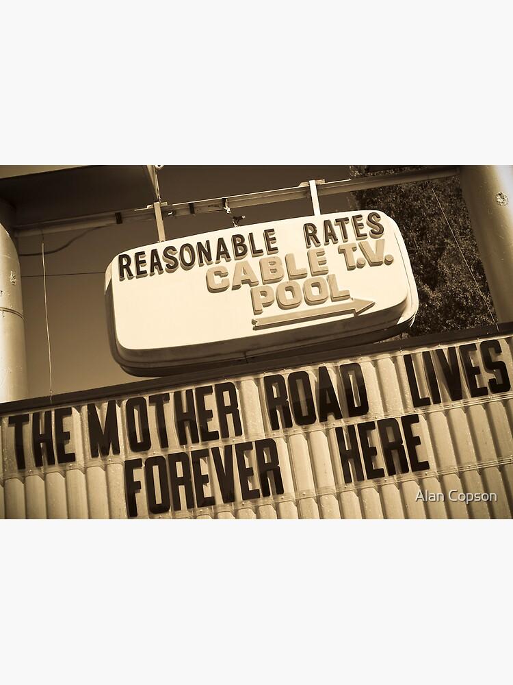 Route 66. Munger Moss Motel. Lebanon. Missouri. USA. by AlanCopson