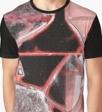 Geometrical Red Graphic T-Shirt