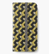 Black and Gold Pattern series iPhone Wallet/Case/Skin