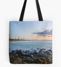 Sunrise at Burleigh Tote Bag