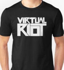 Camiseta ajustada Alboroto virtual