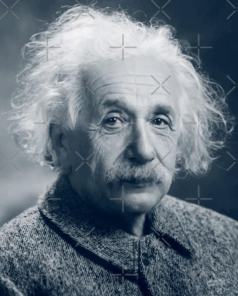 Albert Einstein by monsterplanet