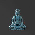 Blue Buddha  by 73553