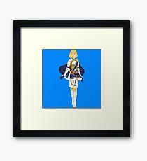 Lianna Blocky Framed Print