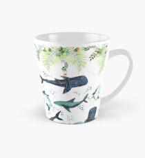 floral shark pattern Tall Mug
