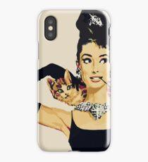Breakfast at tiffany's | Audrey Hepburn iPhone Case/Skin