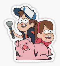 Gravity Falls 2 Sticker