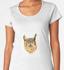 Watercolour Owl Women's Premium T-Shirt