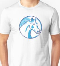 Drafthorse in the Wind. T-Shirt