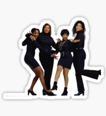 Women of Living Single Sticker