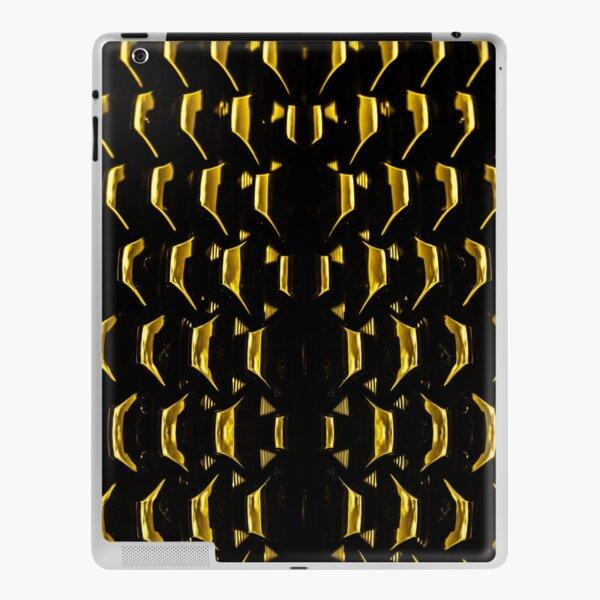 Dark gold metal by Brian Vegas iPad Skin