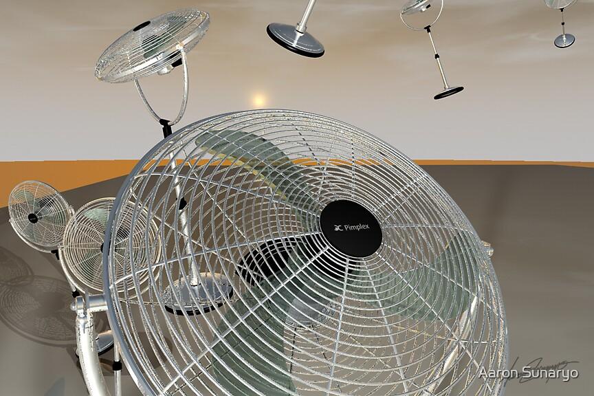 Flying Fan by Aaron Sunaryo