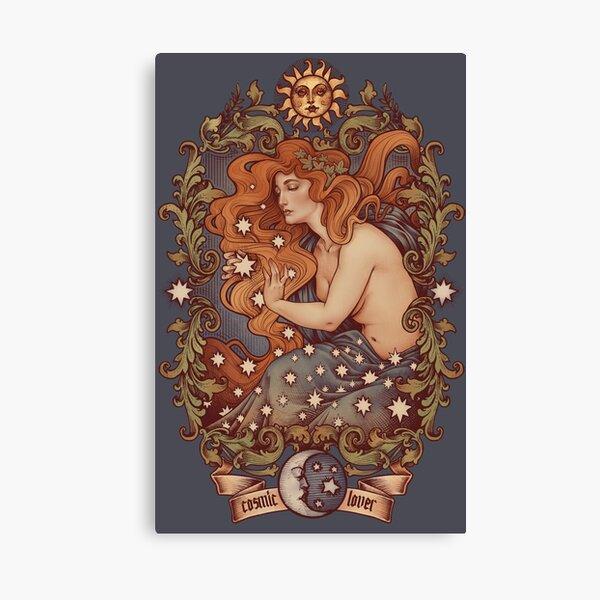 COSMIC LOVER - Color version Canvas Print