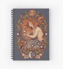 COSMIC LOVER - Color version Spiral Notebook